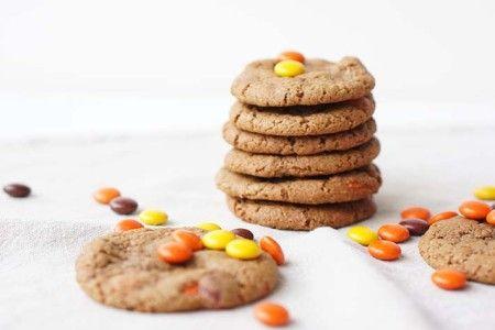 recept reeses pinda koekjes