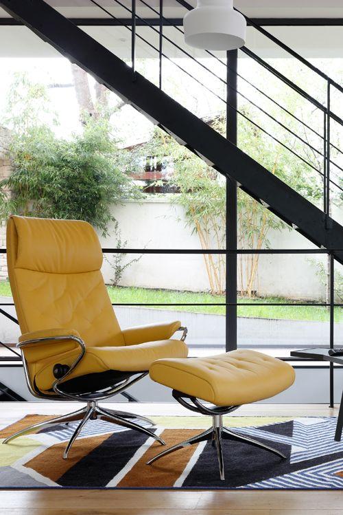 So modern sieht Komfort aus: Stressless Sessel Metro im skandinavischen Design. #stressless #sessel #ekornes #möbel #wohnen #komfort #einrichtung