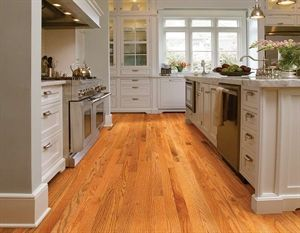 "Shaw Floors Golden Opportunity Red Oak Butterscotch 2 1/4"". Smooth Solid Red Oak hardwood floor."