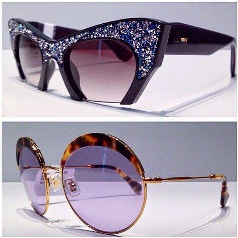 Eye Candy - Miu Miu's Glitter Sunglasses2014 - Miu Miu Addict - Miu Miu Addict