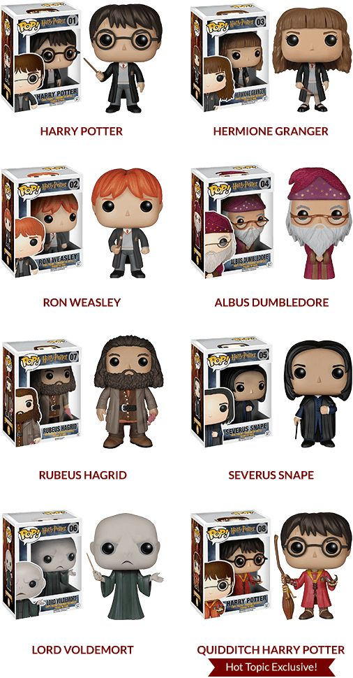 Harry Potter Funko Pop! Sweepstakes | Harry Potter Wish List