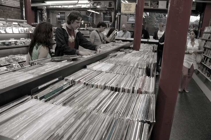 Generation Records NYC/Soho - Stop buying your records from the supermarket!