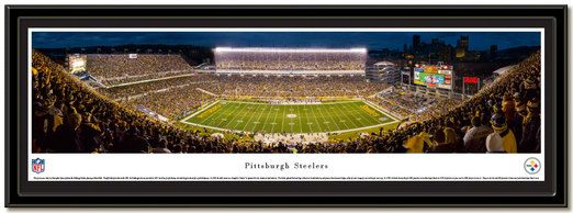 Pittsburgh Steelers Heinz Field Framed Picture matted and framed ready to hang.