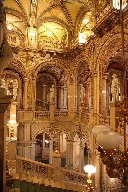 The Vienna State Opera, Austria  the most important Opera Houses in the World | Amazing Snapz