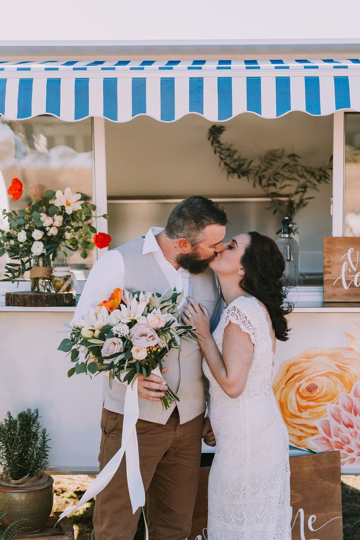 Italian Long Lunch Country Wedding Ideas With Watercolour Details - Polka Dot Bride