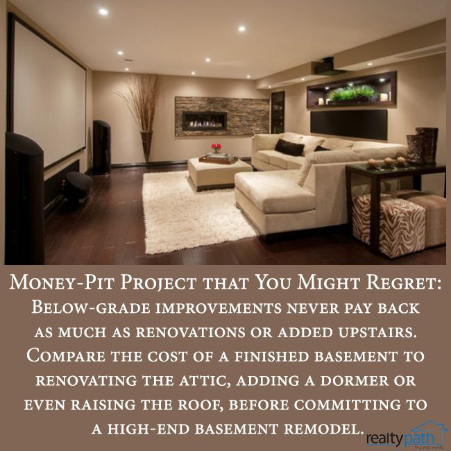 25+ Best Ideas About Basement Finishing Cost On Pinterest