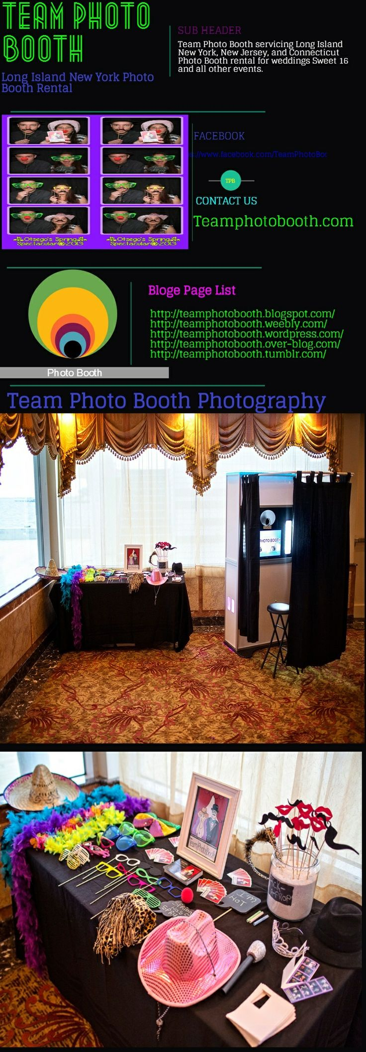 Photo Booth Rentals Pricing and Packages - TeamPhotoBooth.com