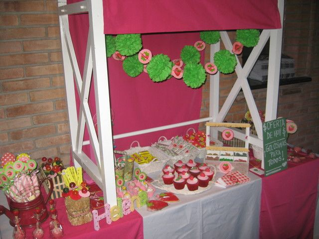102 best strawberry shortcake theme images on Pinterest Birthday