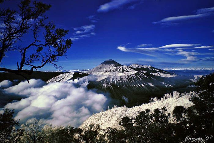 "Puncak Jayawijaya and Carstenz ""snow in Indonesia""  - equatorial glaciers that were close to us on Irian Jaya (Papua)"