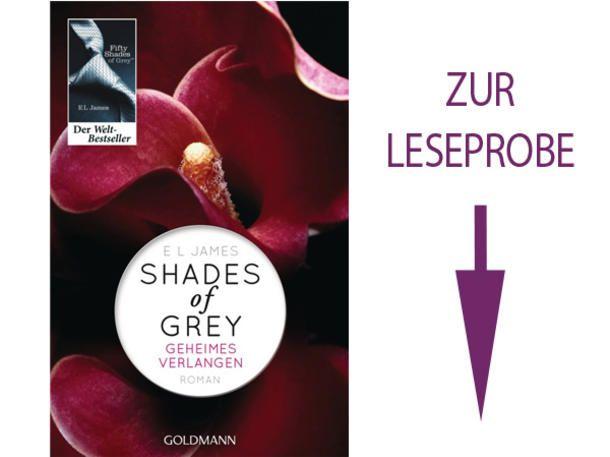 Shades of Grey: Valentinstag 2015 startet der Film in den Kinos. Lohnt es sich, vorher doch noch das Buch zu lesen? Wir haben eine Leseprobe für Sie.