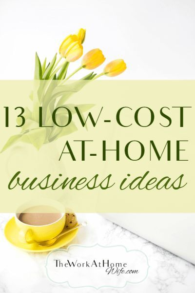 Great list of low-cost at-home business ideas that almost anyone can do.