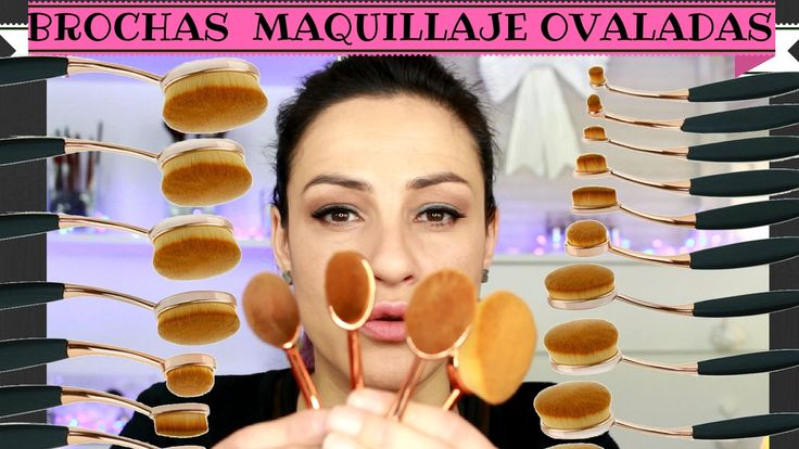 Brochas de Maquillaje Ovaladas  Review + Demo