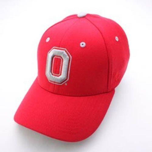 Zephyr-Ohio-State-Buckeyes-O-Red-ZH-Flex-Hat-Size-M-L-NWT