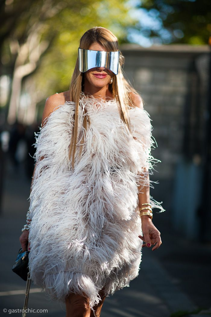 Anna Dello Russo in Alexander McQueen...this is what fashion should be about...FUN!!