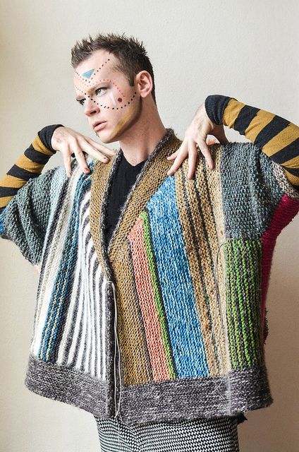 Penguono 15 by westknits, via Flickr- I should knit this for Roy to wear on casual Friday when he becomes the science officer on a space ship