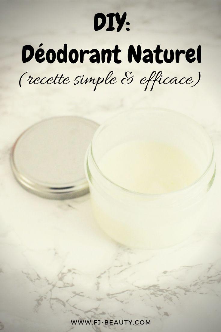DIY : déodorant naturel (recette simple et efficace