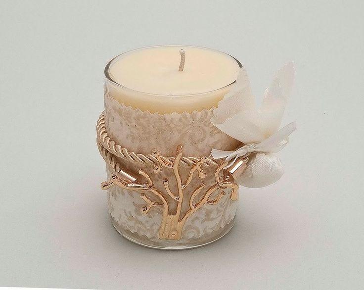Μπομπονιέρα Γάμου Κερί Δέντρο Ζωής - MBG-4038