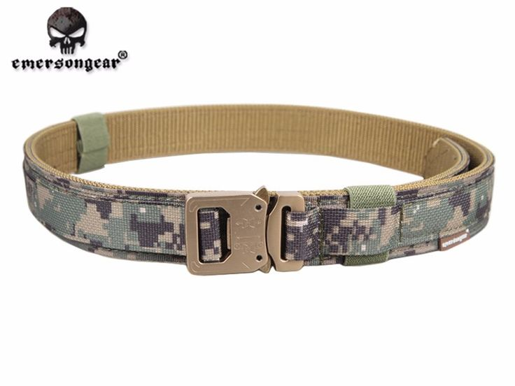 1.5 Inch Shooting Belt Outdoot Hunting Military Tactical Belt Police Duty Belt for Men