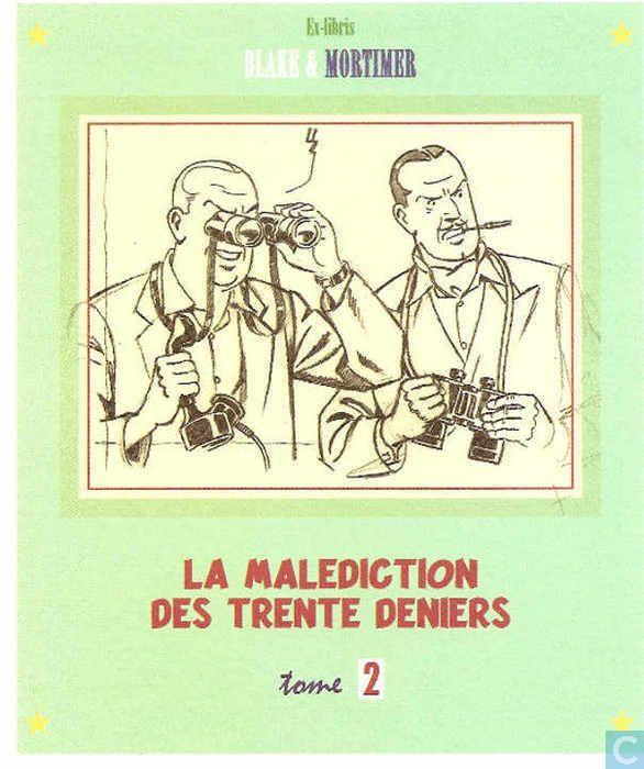 Ex-Libris BD et tirages - Ex-libris BD - La malédiction des trente deniers 2