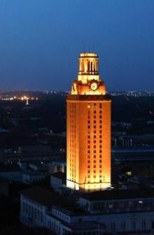 What I Love About College Football.  Longhorn Football, University of Texas Tower