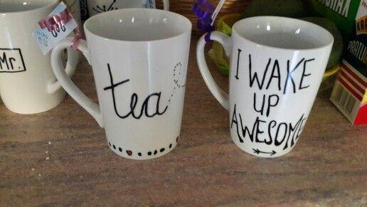 Handmade mug designs