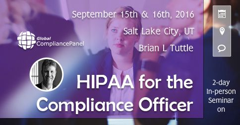 I will be going into great detail regarding you practice or business and how it relates to the HIPAA Security/Privacy Rule,  Areas covered will be history of HIPAA, privacy vs security, business associates, changes for 2016, audit process, paper based PHI, HIPAA and suing, texting, email, encryption, medical messaging, voice data and much, much, more http://www.globalcompliancepanel.com/control/globalseminars/~product_id=900502SEMINAR