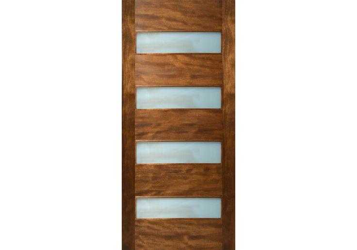 """ETO Door Etiam - 4 Horizontal Lite Door with Laminate Glass (1-3/4"""")"""