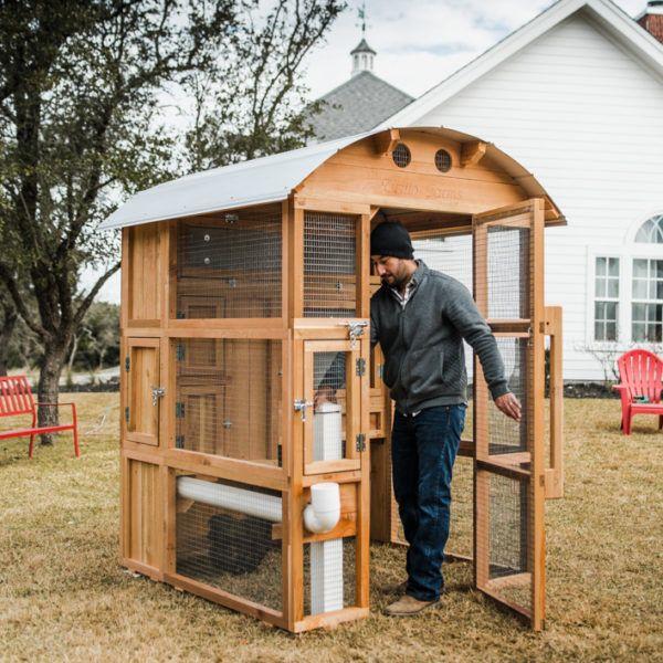 Round-Top Stand-Up™ Chicken Coop   Chickens backyard, Diy ...