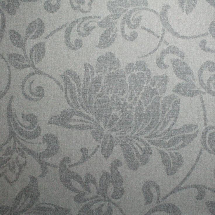 best 25 grey floral wallpaper ideas on pinterest shop. Black Bedroom Furniture Sets. Home Design Ideas