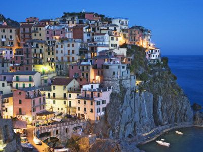 Cinque Terre is situated on the Italian Riviera: Cinque Terre Italy, Mediterranean Sea, Favorite Places, Dreams, Offices Spaces, Magical Places, Beautiful, Magic Places, Travel