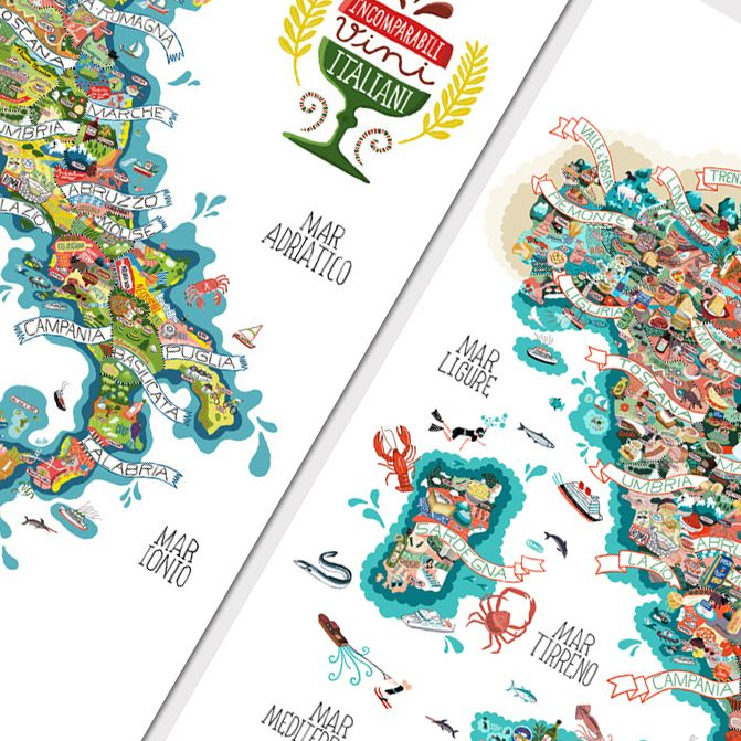Site Map Digital: Book Illustrations, Children's Books And Drawings