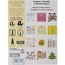 7 best Cricut - Designer Calendar images on Pinterest