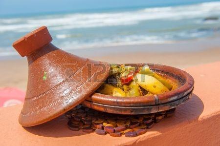 Vis tajine, traditionele Marokkaanse gerecht