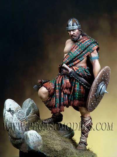 Highlander Warrior, 12th-13th Century