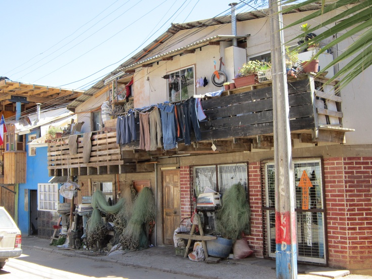Fishing Village, Horcon, Chile