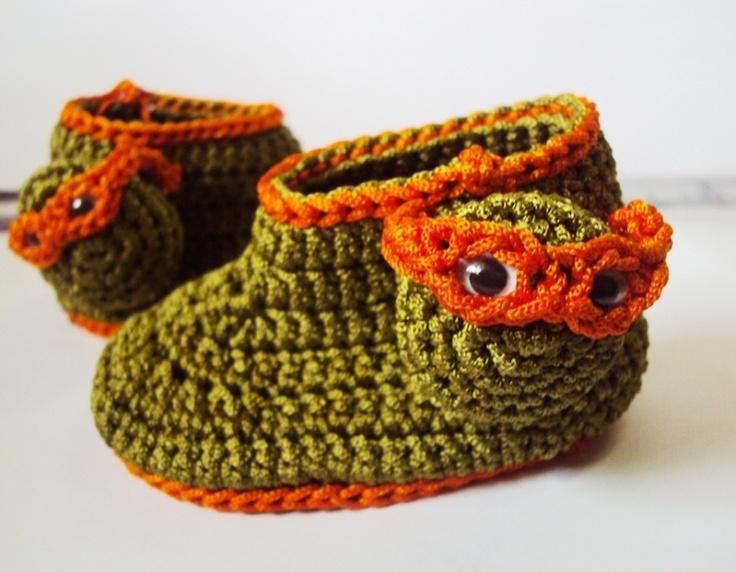 Michelangelo ninja turtle (orange face mask) for all those little boys