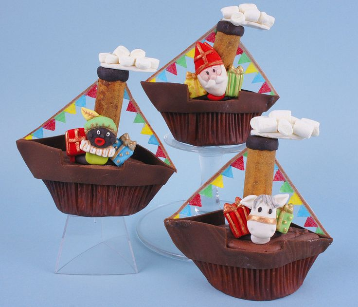 Afbeeldingsresultaat voor sinterklaas cupcakes