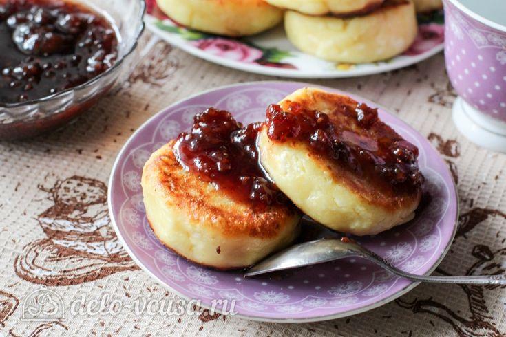 Пышные сырники на сковороде #сырники #рецепты #деловкуса #готовимсделовкуса