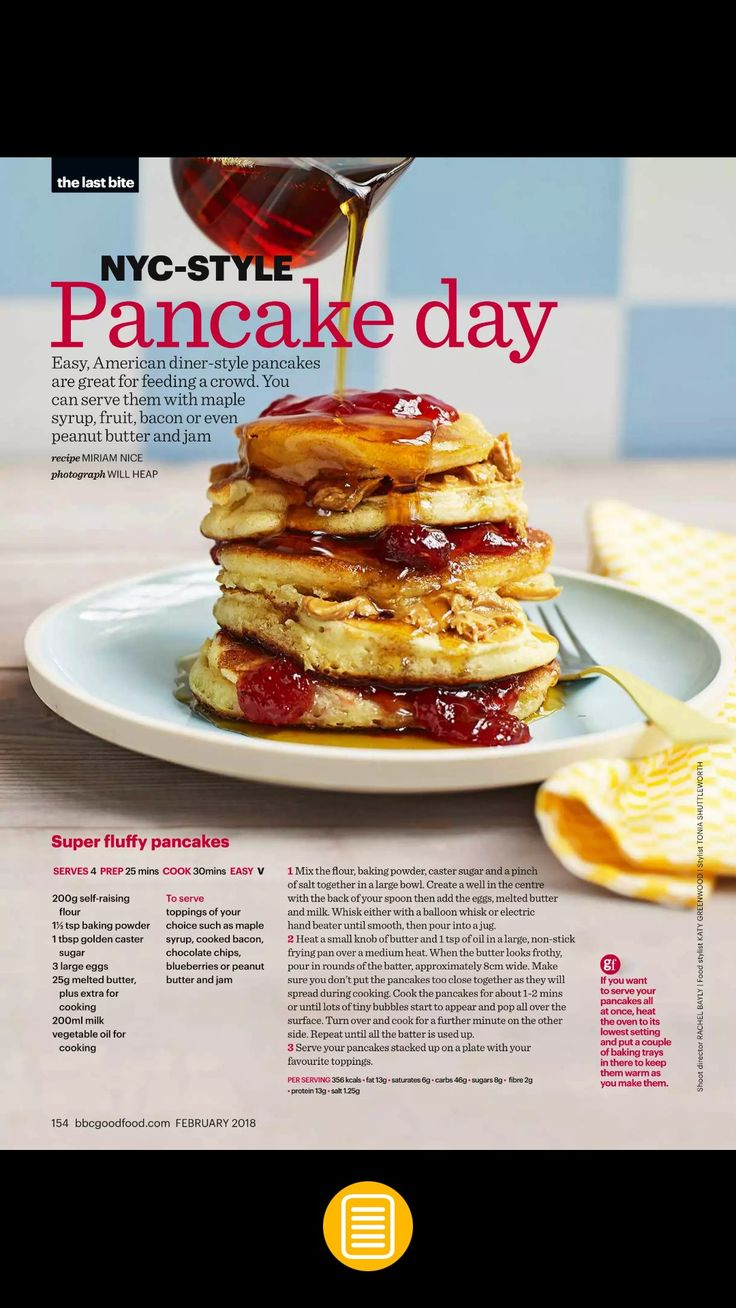 Bbc good food recipe pancakes perfect pancakes recipe bbc good julaayy fluffy american pancakes bbc good food chronicles of yoyo forumfinder Image collections