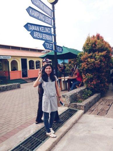 Floating Market Lembang in Bandung Barat, Jawa Barat