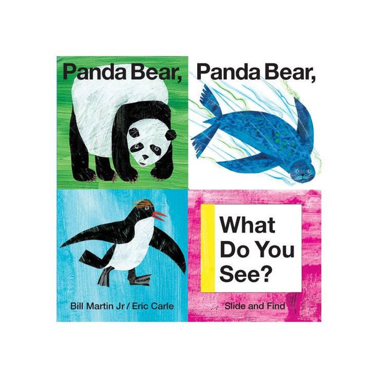 Panda Bear, Panda Bear, What Do You See? (Board Book) by Bill Martin and Eric Carle