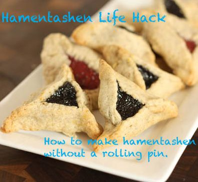 Post image for Hamentashen Life Hack: How to Make Hamentashen Without a Rolling Pin