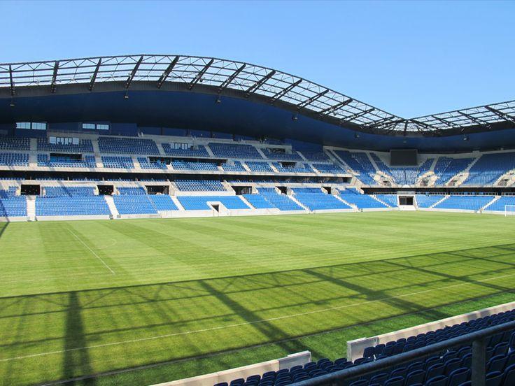 Stade Océane, Le Havre, Francia. Capacidad 25,178. Equipo local Le Havre AC. Inagurado en el año 2012.