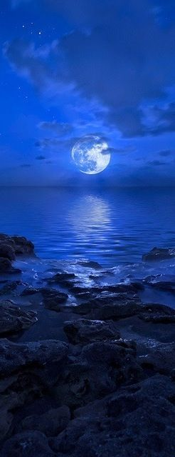 Blue Moon rising ove Amazing World                                                                                                                                                      More