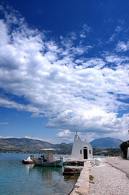 Vouliagmeni Lake, Corinth, Greece
