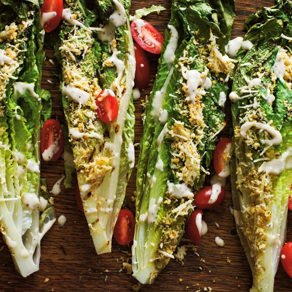 Grilling greens is a great new way to eat your veggies.