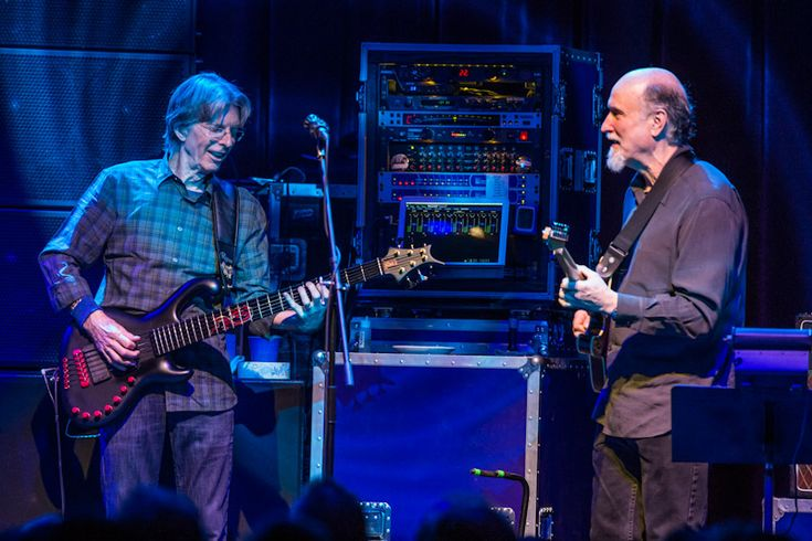 Grateful Dead's Phil Lesh performed with his latest band, Phil Lesh and Friends at Brooklyn Bowl Las Vegas inside The LINQ Las Vegas.