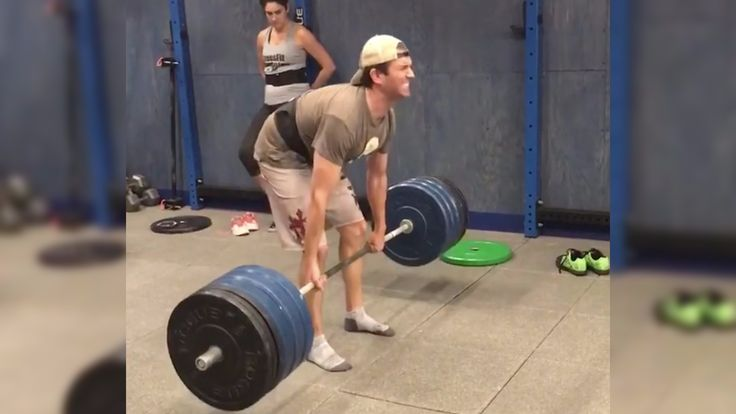 Donald Trump Junior PR's his deadlift with a 375lb pull. He clearly lifts, bro.