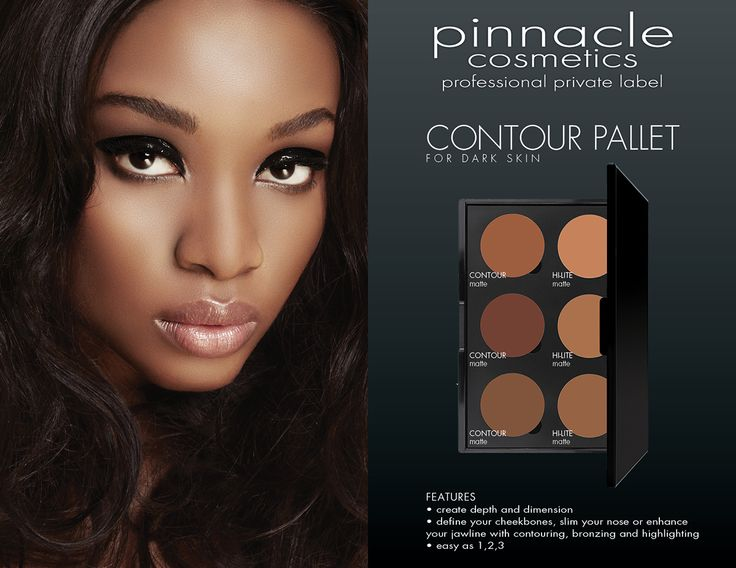 The Makeup Show LA is now less than ONE MONTH away! Pick up the newest #proproducts on the market like Pinnacle Cosmetics Contour Pallet for Dark Skin! Have you gotten your advanced tix yet? FEATURES • create depth and dimension • define your cheekbones, slim your nose or enhance your jawline with contouring, bronzing and highlighting • easy as 1,2,3