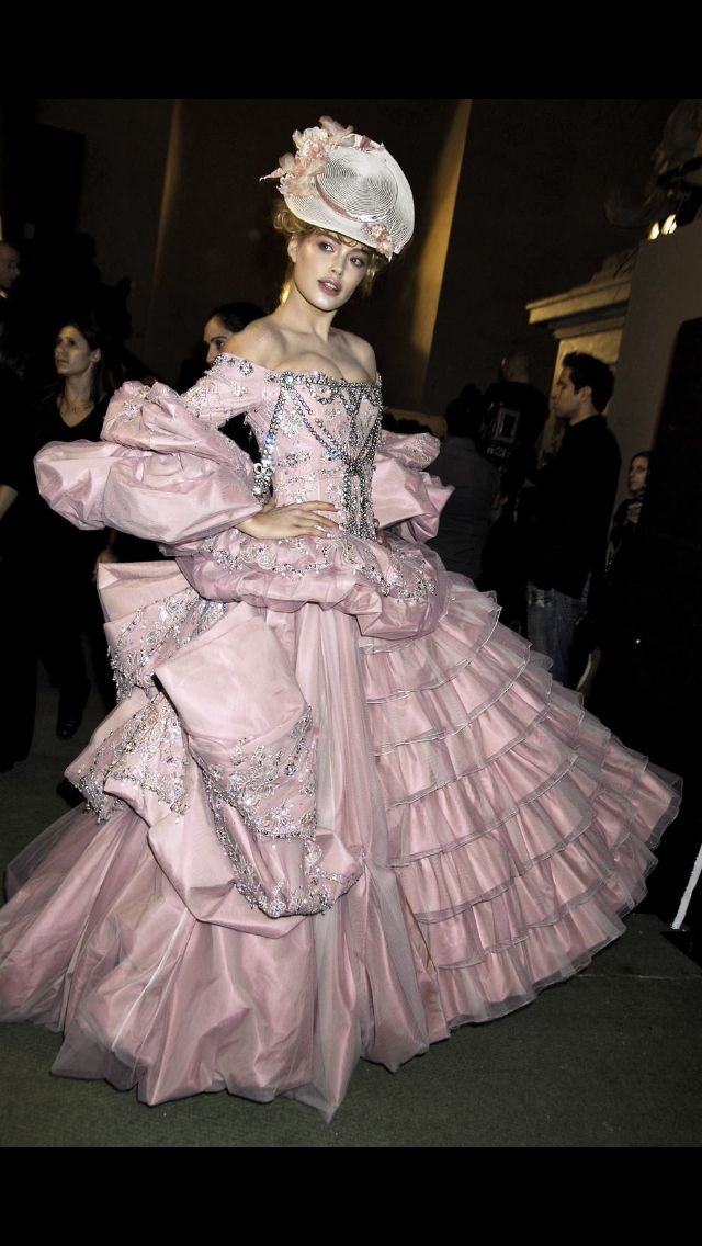 Dior Haute Couture Gown By John Galliano Inspired By Marie